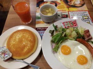 ガストの朝食