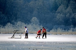 lake hockey