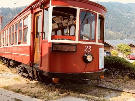 train in Nelson